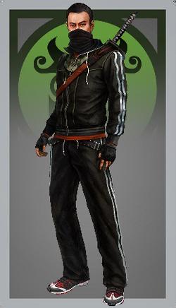 Male ninja
