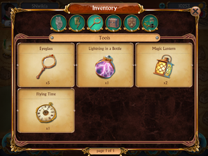 Tools in Inventory