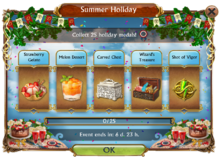 Summer Holiday Mini Event