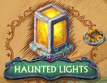 Haunted Lights Puzzle Icon