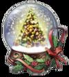 Christmas Snow Globe Talisman