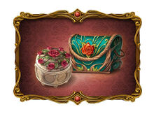 Gift of Flowers Chest and Casket
