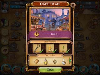 Open Location Window Marketplace
