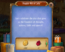 July 4th 2017 Gift