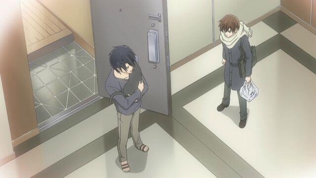 File:Ritsu running into Yokozawa with Sorata ep11.jpg