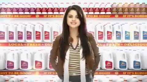 Selena Gomez - Borden Milk Commercial