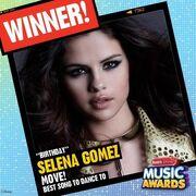 Selena wins