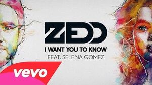 Zedd - I Want You To Know (Audio) ft