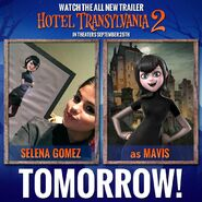 Hotel Transylvania 2 trailer poster