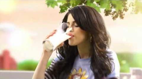 Selena Gomez - Borden Milk Commercial 3