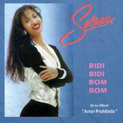 Selena-Bidi Bidi Bom Bom (CD Single)-Frontal