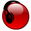 File:Nuvola icon with earphones.png