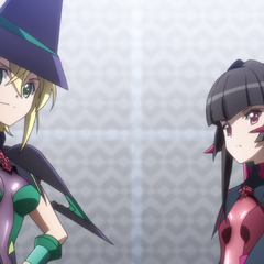Kirika and Shirabe arrives