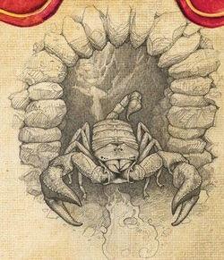 Jim Knee as Scorpion