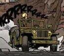 La jeep verte