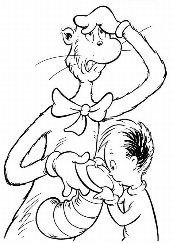 Image dr seuss coloring pages dr seuss wiki for Dr seuss characters coloring pages
