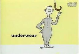 And his underwear too