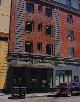 Ritz Hotel detail