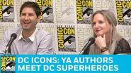 DC Icons YA Authors Meet DC Superheroes Panel San Diego Comic-Con 2017