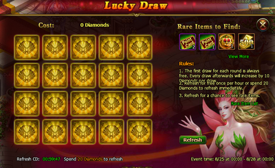 Lucky draw
