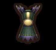 Armor emerald breastplate
