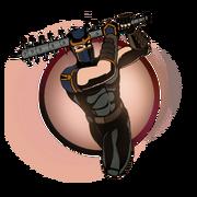 Ninja man big mace old