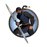 Ninja man glaive