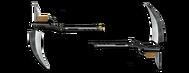Weapon sectional scythe
