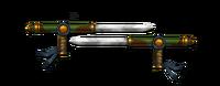 Weapon sharp tonfa