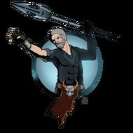 Man spear