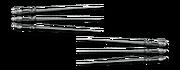 Ranged needles w128