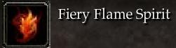 Fiery Flame Spirit
