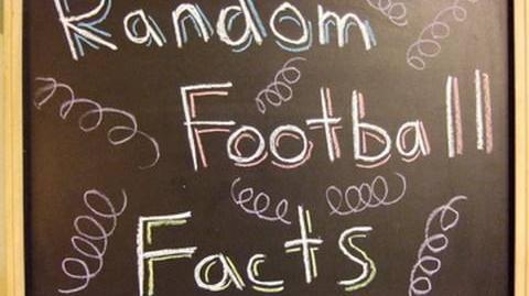Random Football Facts!