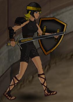 Golden Phoenix Warrior
