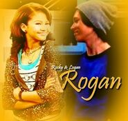 Rogan smiles