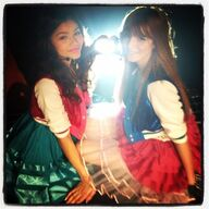Bella and Zendaya with skirts.