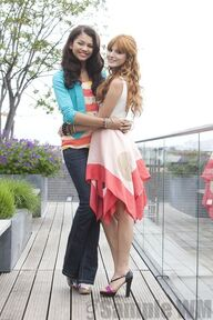 95415 Preppie Bella Thorne and Zendaya Coleman posing for a photo shoot on a hotel in Munich 20 122 182lo