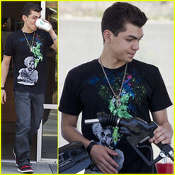 Adam-irigoyen-in-town-drinking