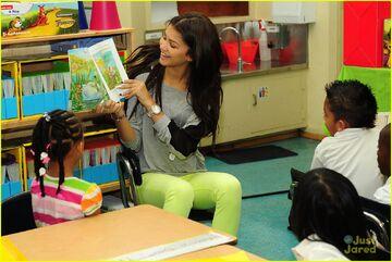 Zendaya-coleman-reading-to-children