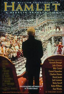Hamlet 1996 poster