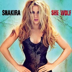 Shakira - She Wolf (album cover)