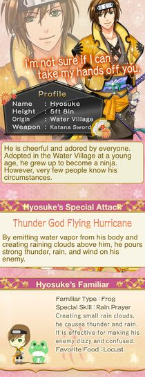 Hyosuke character description (1)