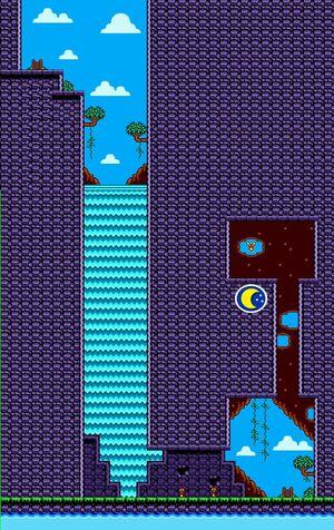 Shantae GBC - maps - hidden waterfall