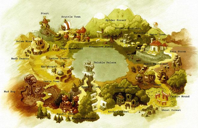 Shantae GBC - maps - MapAncient - sized