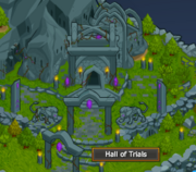 Hall of trials