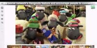 Shaun the Sheep in Google-Hangout