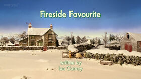 Fireside Favourite title card