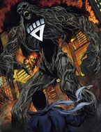 Swamp Thing Black Lantern