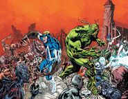 Animal Man Vol 2-17 and Swamp Thing Vol 5-17 Rotworld Crossover Story Arc Teaser