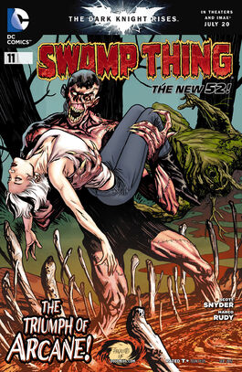 Swamp Thing Vol 5-11 Cover-1